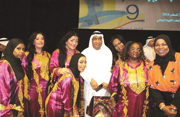 Photo of الفرقة النسائية الكويتية تشدو بأجمل ألحان الماضي