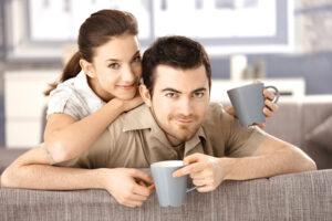 happy wife-