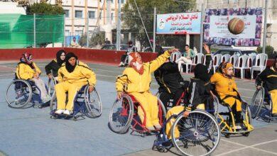 Photo of فارسات في كرة السلة لاعبات قهرن الإعاقة بالرياضة
