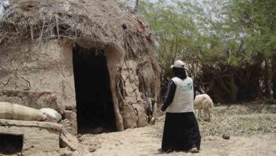 Photo of امرأة كويتية تعيش وسط الخطر