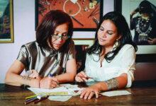 Photo of مصممة المجوهرات العالمية عزة فهمي في مجموعتها الجديدة