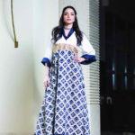 مصممة الأزياء إيمان الأحمد القفطان الرمضاني يحاكي الموضة
