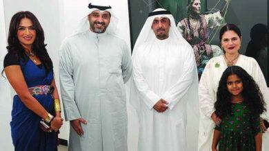 Photo of معرض وجود التصوير والرسم وتصميم الأزياء. لتكريم المرأة الكويتية
