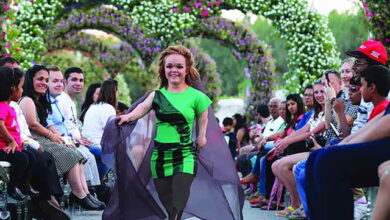 Photo of في دبي.. عرض أزياء مختلف بكل المقاييس «الصغيرة»!
