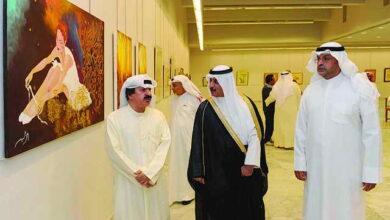Photo of معرض الخط العربي والتشكيلات الحروفية