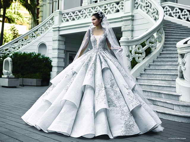 Photo of المصممة سمر أبو رعد أطلقت مجموعتها الجديدة لفساتين الزفاف والسهرة 2017