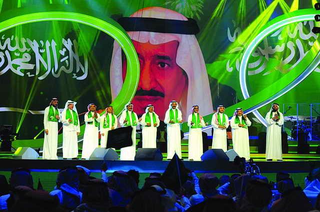 Photo of نجوم الطرب الخليجي والعربي يغنون أوبريت «رفرف يا الأخضر»