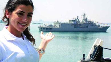 Photo of مروة السلحدار.. أول ضابط بالأكاديمية البحرية