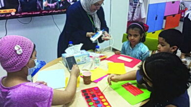 Photo of جمعية «أبي أتعلم» تمدّ يد الأمل لأطفال السرطان