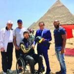 أسامة نجف أول قافز كويتي حر من ذوي الاحتياجات في الشرق الأوسط
