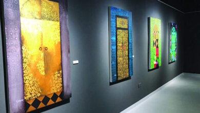 Photo of الفنانة التشكيلية «سارة حسن» تشارك في معرض «رام آرت»