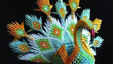 Photo of أحمد جمال.. صعيدي احترف فن الأوريجامي الياباني