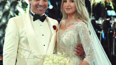 Photo of هنا الزاهد وأحمد فهمي أحدث عروسين في الوسط الفني