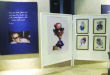 Photo of أديب نوبل بريشة فناني العالم في لوحات كاريكاتيرية