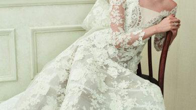 Photo of Oscar de la renta عروس تنبض بالبساطة والأنوثة الطاغية