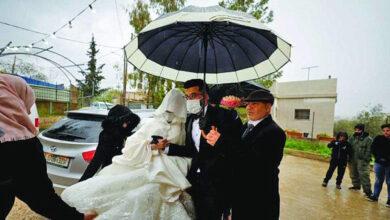 Photo of حفل زفاف فلسطيني بالكمامات وبدون معازيم بسبب كورونا