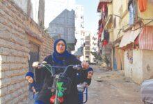 Photo of دراجة «أم مريـم»لتوصيل الطلبات.. ورزق البنات