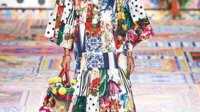 Photo of الألوان والاستدامة أهم ما ميّز مجموعة Dolce & Gabbana2021لربيع/صيف