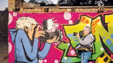 Photo of العالم يستمتع بفن الشارع.. بفضل مصوّرة شجاعة اسمها Martha Cooper