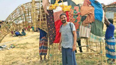Photo of فيل في الغرفة» عمل فني لسكان أكبر مخيم للاجئين