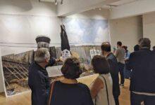 Photo of أقامه الفنان الإسباني إيسيدرو لوبيث-أباريثيو معرض «لا تُطلق النار»..  صيحة احتجاج على العنف والتدمير