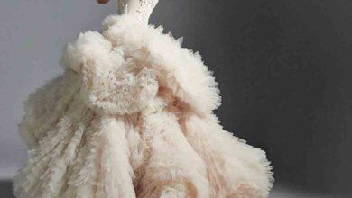 Photo of مجموعة فساتين الزفاف من تصميم Krikor Jabotian مستوحاة من ألحان الحب والرومانسية