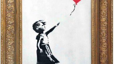 Photo of أُتلفت ذاتياً منذ ثلاث سنوات لوحة «الحب في سلة المهملات» في مزاد بسعر خيالي